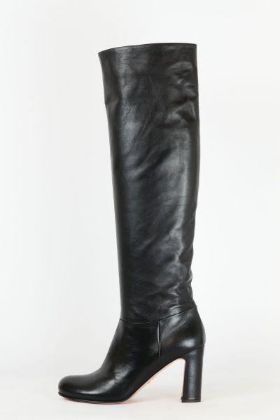 Stiefel Leder schwarz