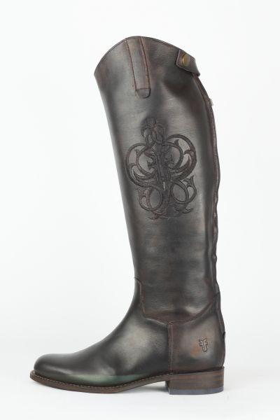 Stiefel im Reiterlook braun